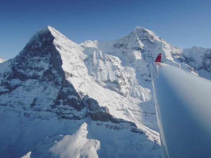 Alpenrundflug ab Zweisimmen