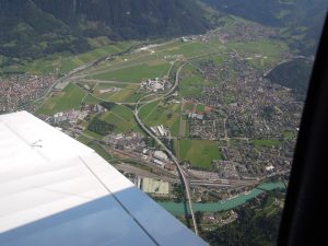 Alpenrundflug Flugplatz Interlaken